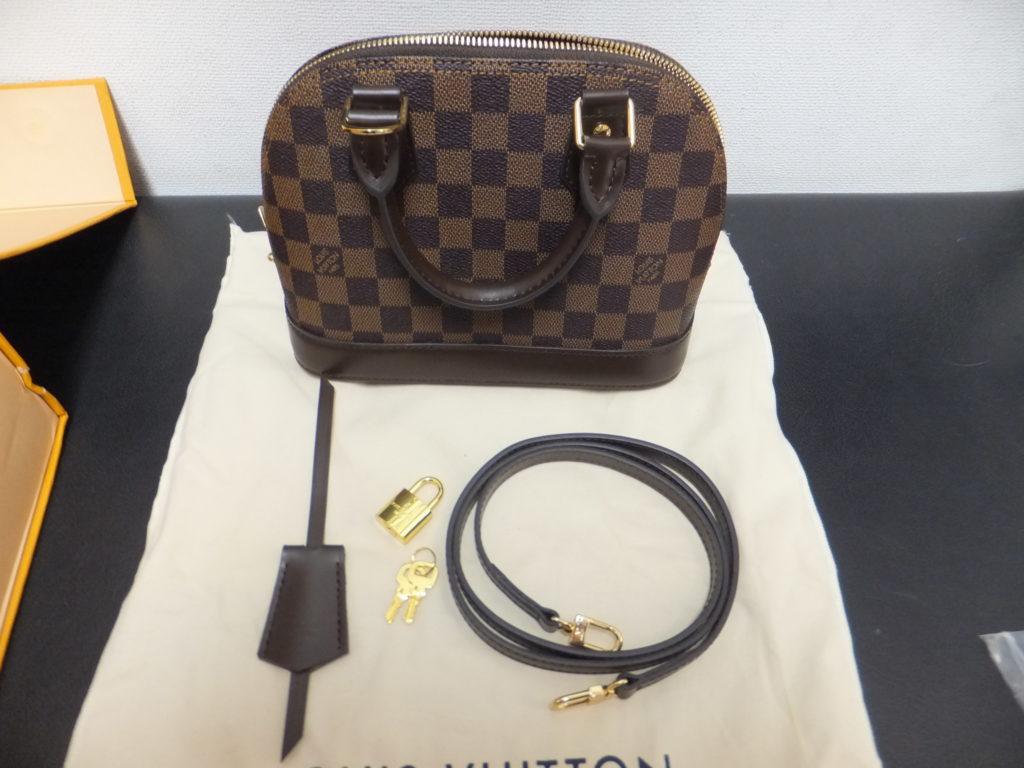 Louis Vuitton アルマBB コピー品の一覧